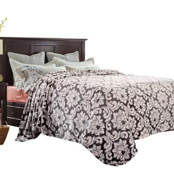 凯诗风尚格兰风情法兰绒毯办公午睡毯