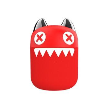 萌奇魔鬼猫音魔系列mini蓝牙4.2无线音响重低音小巧便户外车载家用小音箱手机电脑低音小钢炮高音质携式