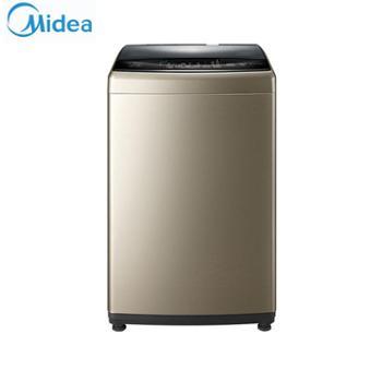 美的(Midea)9公斤大容量全自动波轮洗衣机MB90-6100WQCG金色
