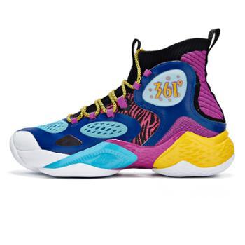 361度篮球运动鞋572011111高帮耐磨防滑专业外场球鞋