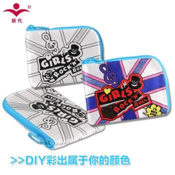 新代儿童钱包女童零钱包男童钥匙包可爱小卡包卡通创意DIY小学生