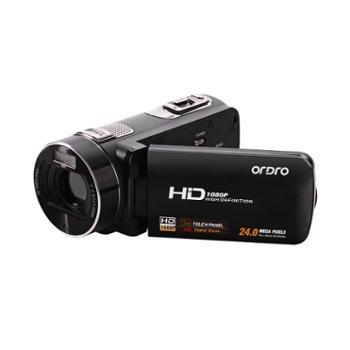 Ordro/欧达 HDV-Z8 数码摄像机高清家用DV1080P2400万带遥控 包邮