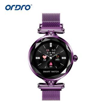 新款H1智能手环心率睡眠监测防水彩屏运动蓝牙女性智能手表