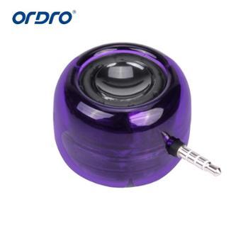 Ordro欧达 M06手机扩音器音响直插小音箱迷你低音炮通用喇叭便携