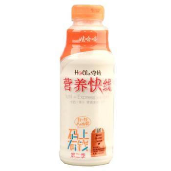 娃哈哈营养快线水果牛奶饮品原味500g