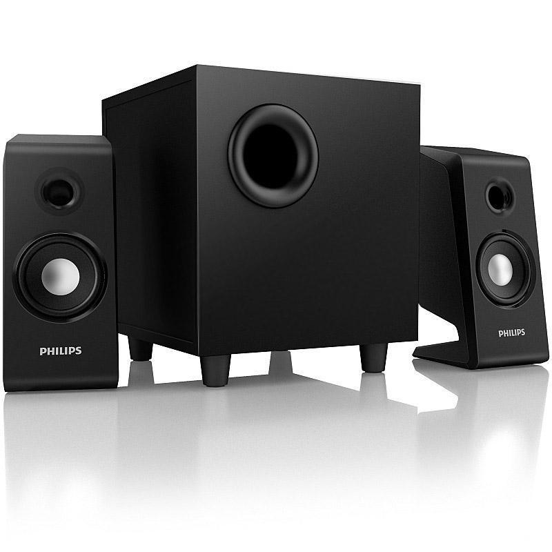 飞利浦 spa2335 电脑音箱(黑色)