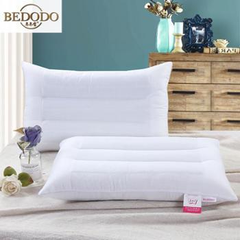 冬冬宝家纺全棉提花决明子枕头单人舒适枕芯决明子两用舒睡枕