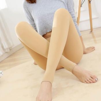 水貂绒材质 抗寒保暖瘦腿(西瓜裆)分压不起球踩脚一体裤袜打底裤
