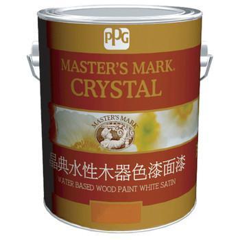 PPG大师漆晶典水性木器漆系列 白色面漆(哑光)DM80-261/2.5KG