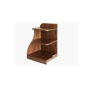 双叶家具 览众全实木简配床头柜床头柜