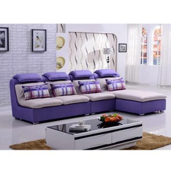 创意沙发客厅新款布艺沙发组合大小户型现代客厅转角沙发组合