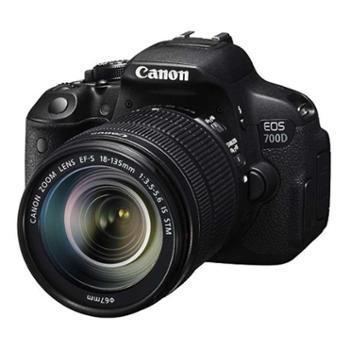 佳能(Canon)EOS700D单反套机(EF-S18-135mmf/3.5-5.6ISSTM镜头)