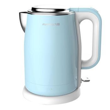 Joyoung/九阳 电水壶 K17-F5电热水壶开水煲烧水壶 食品级304不锈钢 1.7L大容量