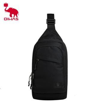 【橙屋】爱华仕休闲胸包男士单肩包挎包户外包旅行包袋OCK5530