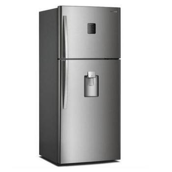 DAEWOO/大宇FGK48NPG双开门复古电冰箱风冷无霜金属拉丝饮水机