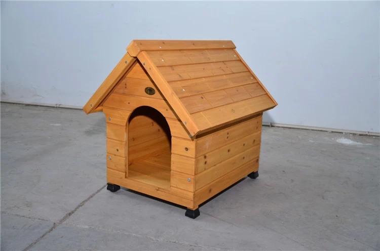 优质实木犬舍木质狗房子户外宠物窝防水防晒防雨专业