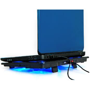 纳居N5笔记本散热器 14寸 15.6寸手提电脑17寸支架垫风扇底座板
