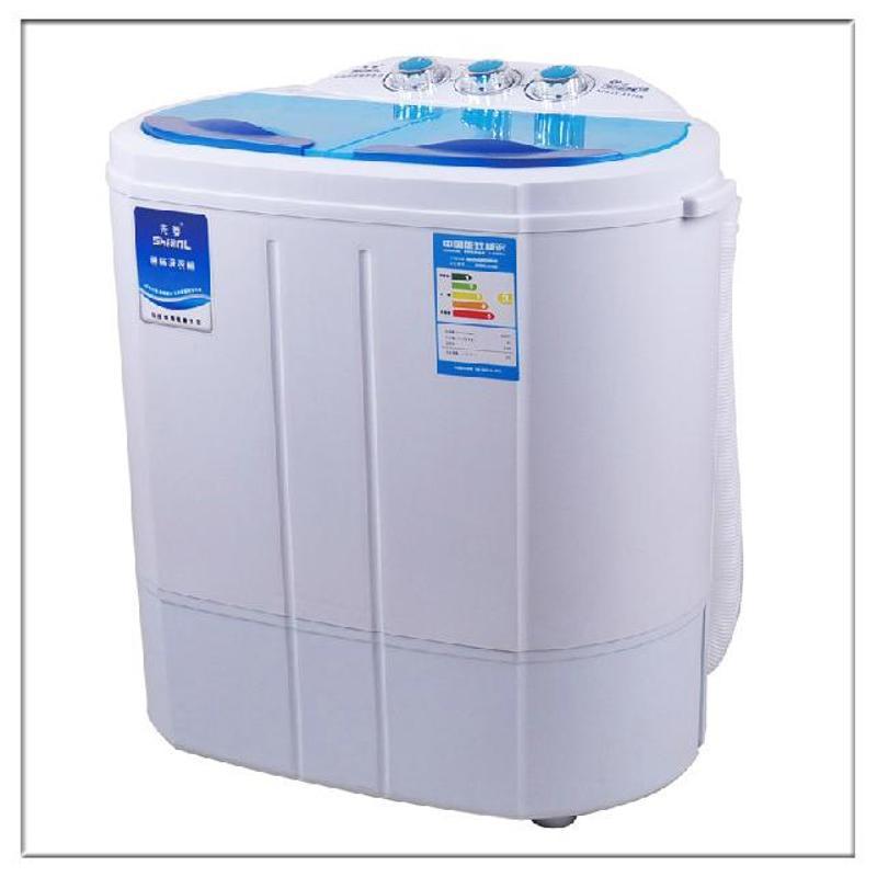 1145s儿童婴儿双桶双缸小型迷你洗衣机(玖融分期购)