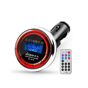 索浪SL-819车载MP3播放器车用点烟式汽车音响USB遥控播放MP3