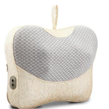 健宁颈椎按摩器颈部背部腰部按摩枕腰椎按摩仪家用多功能按摩靠垫