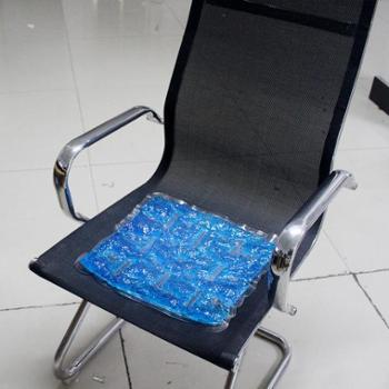 玖融 冰晶冰垫冰凉坐垫汽车办公室冰床枕垫凝胶珠夏季降温防暑冷热俩用