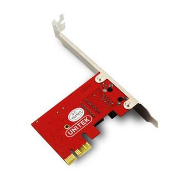 优越者PCI-E台式机扩展卡PCI-E转RJ45有线网卡PCI-E千兆网卡