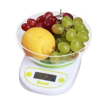 贝奥托盘电子称 厨房秤 食物电子称 食品克秤 家用烘焙秤1g-5kg