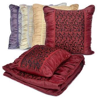 维多利亚车用抱枕被子汽车内空调被靠垫枕垫腰垫靠两用多功能大号(单个)