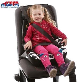 护航舰队儿童安全座椅增高垫3-12岁汽车用简易便携坐垫ISOFIX接口
