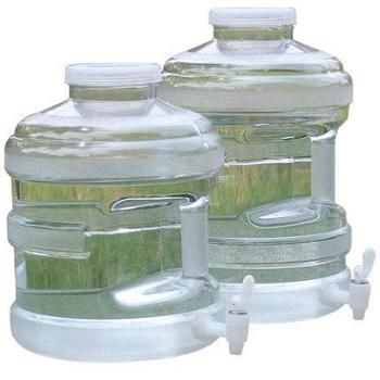 户外车载PC纯净水桶矿泉水桶饮用水桶储水桶食品级加厚手提家用