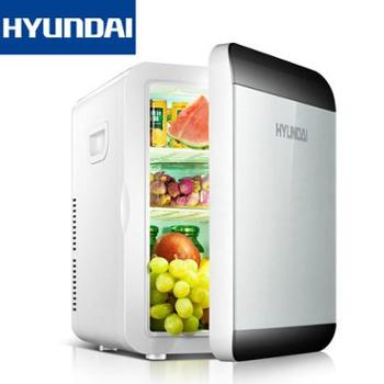 HYUNDAI现代13.5L车载冰箱制冷迷你小型家用单门宿舍学生车家两用