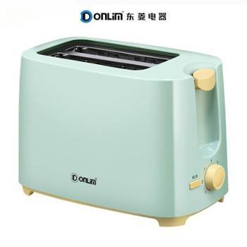 Donlim/东菱TA-8600烤面包机家用早餐吐司机2片迷你全自动多士炉