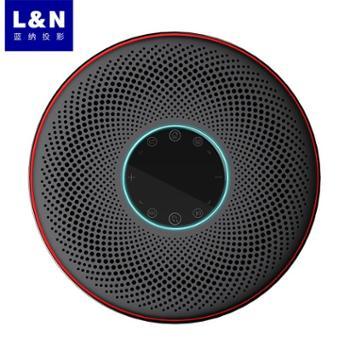 蓝纳N3投影仪家用1080P高清智能无线WIFI家庭影院微型投影机办公商务教学3D电影卧室客厅无屏4K电视机