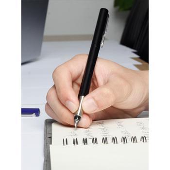 PARKER派克钢笔学生专用威雅黑色胶杆墨水笔商务高档办公男女士成人练字刻字送礼礼盒装