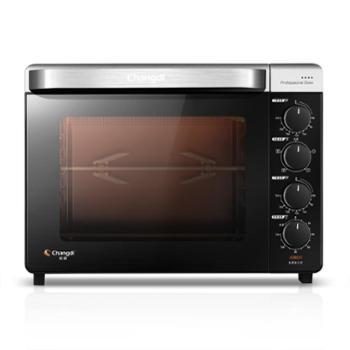 长帝CRTF32K烤箱家用烘焙多功能全自动32升小烤箱蛋糕面包电烤箱
