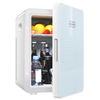 美固迷你冰箱20L学生寝室宿舍小冰箱小型家用车载冰箱车家两用