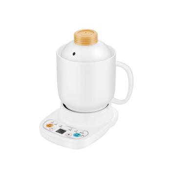 养生杯电炖杯陶瓷迷你办公室煮牛奶电加热杯小炖杯全自动宿舍