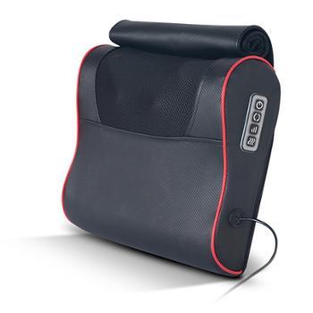 充电多功能肩颈椎按摩器颈部腰部肩部全身电动仪艾绒加热枕头家用