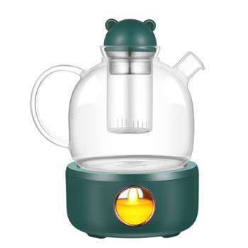 米贝丽 恒温烛光壶 Z1 高硼硅玻璃
