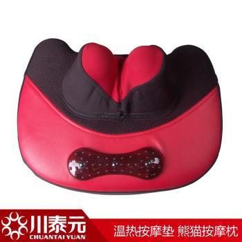 2012新品 颈椎按摩器按摩垫颈部腰部背部 按摩靠垫 按摩枕
