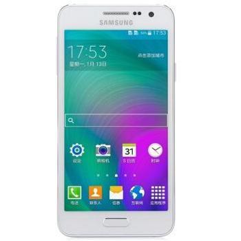 三星 Galaxy A3 (A3009) 白色 电信4G手机 双卡双待