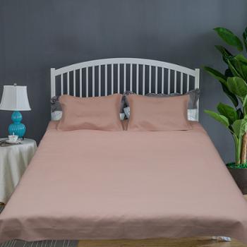 山西绿洲汉麻棉凉席三件套 床上用品床单 枕套 舒适 透气 简约 百搭