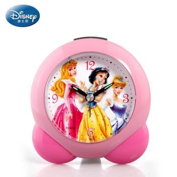 Disney/迪士尼简约卡通静音夜光儿童迪士尼闹钟C3003