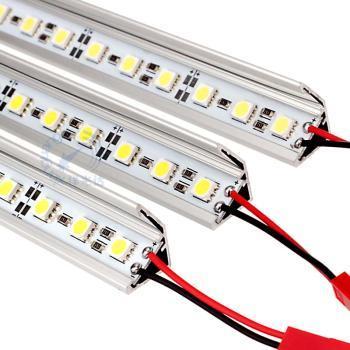LED硬灯条珠宝柜台展柜灯条12V5050贴片72珠超高亮