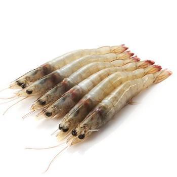 【包邮】中粮凌鲜·大洋世家厄瓜多尔白虾(每公斤40/50只)2kg盒装【中粮我买网】