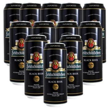 【中粮我买网】【包邮】费尔德城堡黑啤酒500ml*12罐【善融六周年】