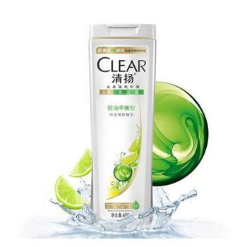 清扬(CLEAR)去屑洗发水多效水润洗发水/控油平衡洗发水175ml