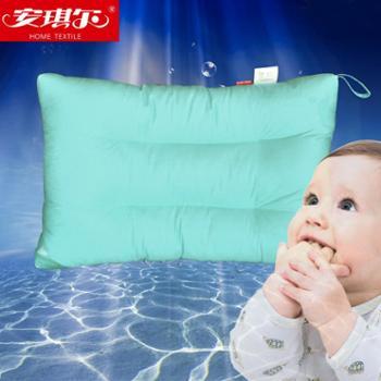 安琪尔家纺 全棉可水洗学生枕头 保健护颈定型枕芯 30*50一只装