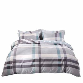 安琪尔家纺床上用品大学生宿舍床单被套全棉印花三件套