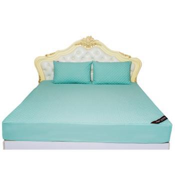 安琪尔家纺全棉绗缝加棉水洗床笠可定制